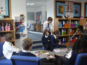 Careers Library at St Aidan's in Harrogate